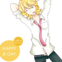 Happy B-day Cime by Geellick