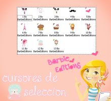 Cursores de seleccion by BarbieEditionsYT
