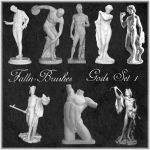 Gods Statues Brushes Set 1 by Falln-Brushes
