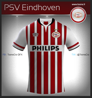 PSV Eindhoven home by ToonsCio