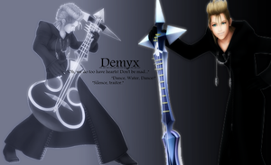 Demyx - wallpaper by Ekumimi