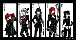 SCIV Black Suits - part I by evs-eme
