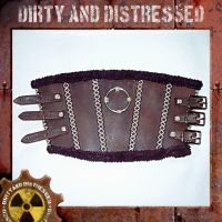 Tribal Wasteland Bracer Front by DirtyandDistressed