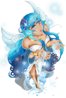 GaiaOnline Commision - Water Spirit by wingkei1993