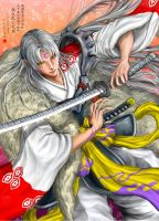 Commission : Lord Sesshomaru by JP-909