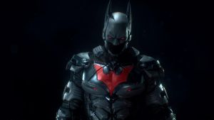 Batman Beyond in Arkham Knight the close up by ChrisChaos369