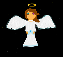 angel of mine by theAWSOMEpeace