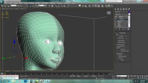 Character hed modelling - smoothing by Azunatsu