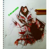 ezio auditore from assassins creed by AceArtz1001