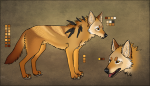 Golden Jackal by xRuffian