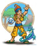 Shards - Chibi Wakka by nachtwulf