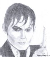 Johnny Depp-Dark Shadows by BonBon95