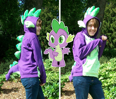 FOR SALE - MLP Spike Hoodie by shazy