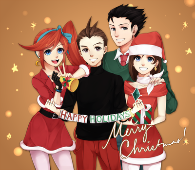 Christmas 2012 by maesketch