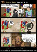 Baldur's Gate comic 2 pg 1 by Epantiras