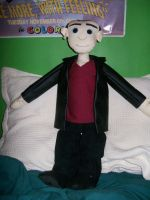 Ninth Doctor Doll by calypsacadence
