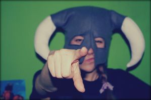 Skyrim Fleece Hat by lAmikol