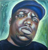 Notorious BIG by ruckysart