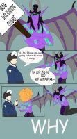 Illidan Meets Pepper Spray Cop by ArtByEdyn