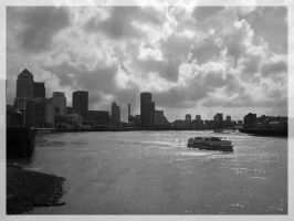 The Thames and Isle of Dogs by vitorhfd