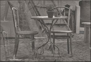 Conversation of Chairs by Wetterlage
