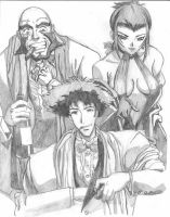 Cowboy Bebop Team by Wagner1988