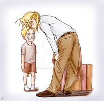 Daddy, don't go. by Perfectlykawaii93