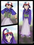 Ash into purple girl page 3 by 455510