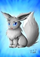 Snowy the Eevee by Snilaze