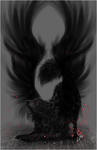 .:Black Winged Wolf:. by WhiteSpiritWolf