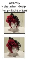 Commission - Madame Red Fascinator by moesashi