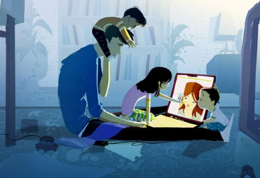 Skyping by PascalCampion
