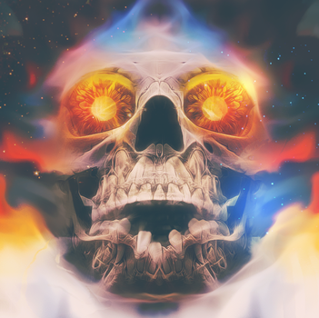 Cursed Skull by Sammers1