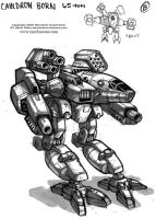 MechWarrior 4 Cauldron Born by Mecha-Zone