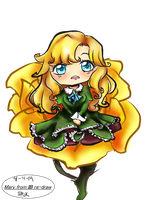 Mary from IB chibi redraw free by HatsuneSnow