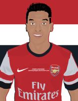 Mesut Ozil Cartoon by SemihAydogdu