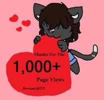 Thanks for the Page Views by Black-lane230