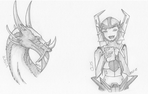 Requests 2 and 3: Viper and Clis by KyaValentine