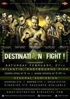 NWA Destination : Fight Official flyer by Mohamed-Fahmy