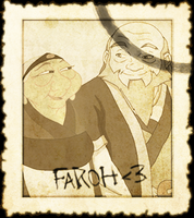 Faroh Stamp by Lady-Hayes