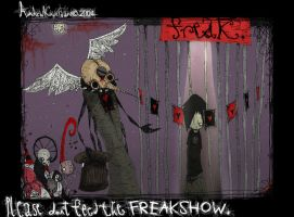 don't feed the FREAKSHOW. by mr-insomnia777