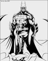 Batman By Omar by JDB-Inks