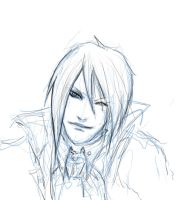 Sebastian Michaelis sketch by crimsonlenzo