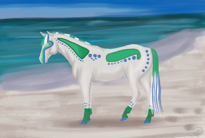 Out At The Beach 2/10 by Vesperity