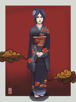 gift for blackwolf0925: Konan by sharingandevil