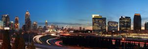 Atlanta Skyline Panorama 2012 by fusk4