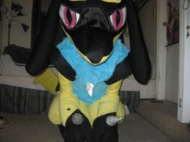 Shiny Lucario Cosplay 3 by LysanderxX