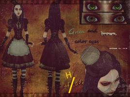 Alice old dress by Pro100Alice