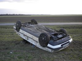 Car crash II by Hiljainen-stock