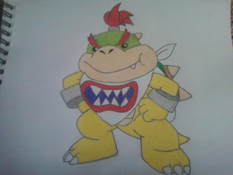 Bowser Jr by InvaderSkittles432